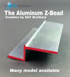 aluminium-z-bead
