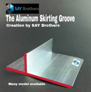 aluminum-skirting-groove