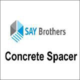 Concrete spacer