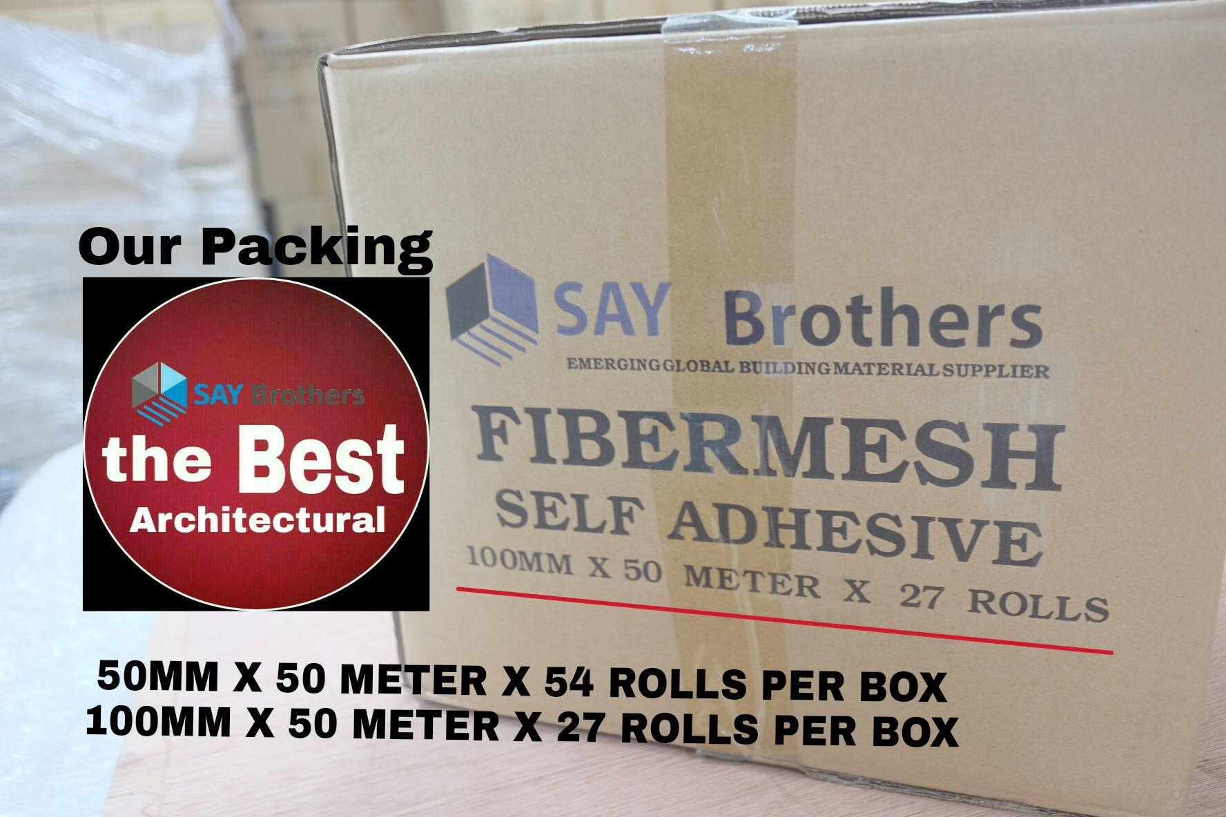 fibermesh-packing