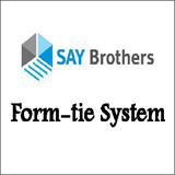 Form tie system