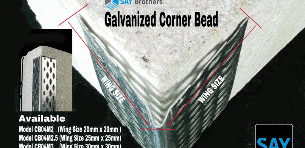 Galvanized Corner Bead Skim Coat