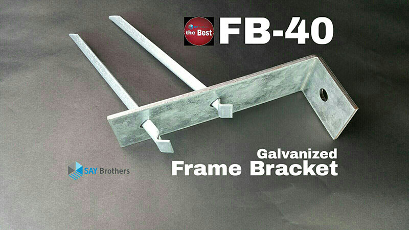 Galvanized Frame Bracket FB-40