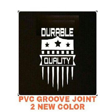 PVC groove
