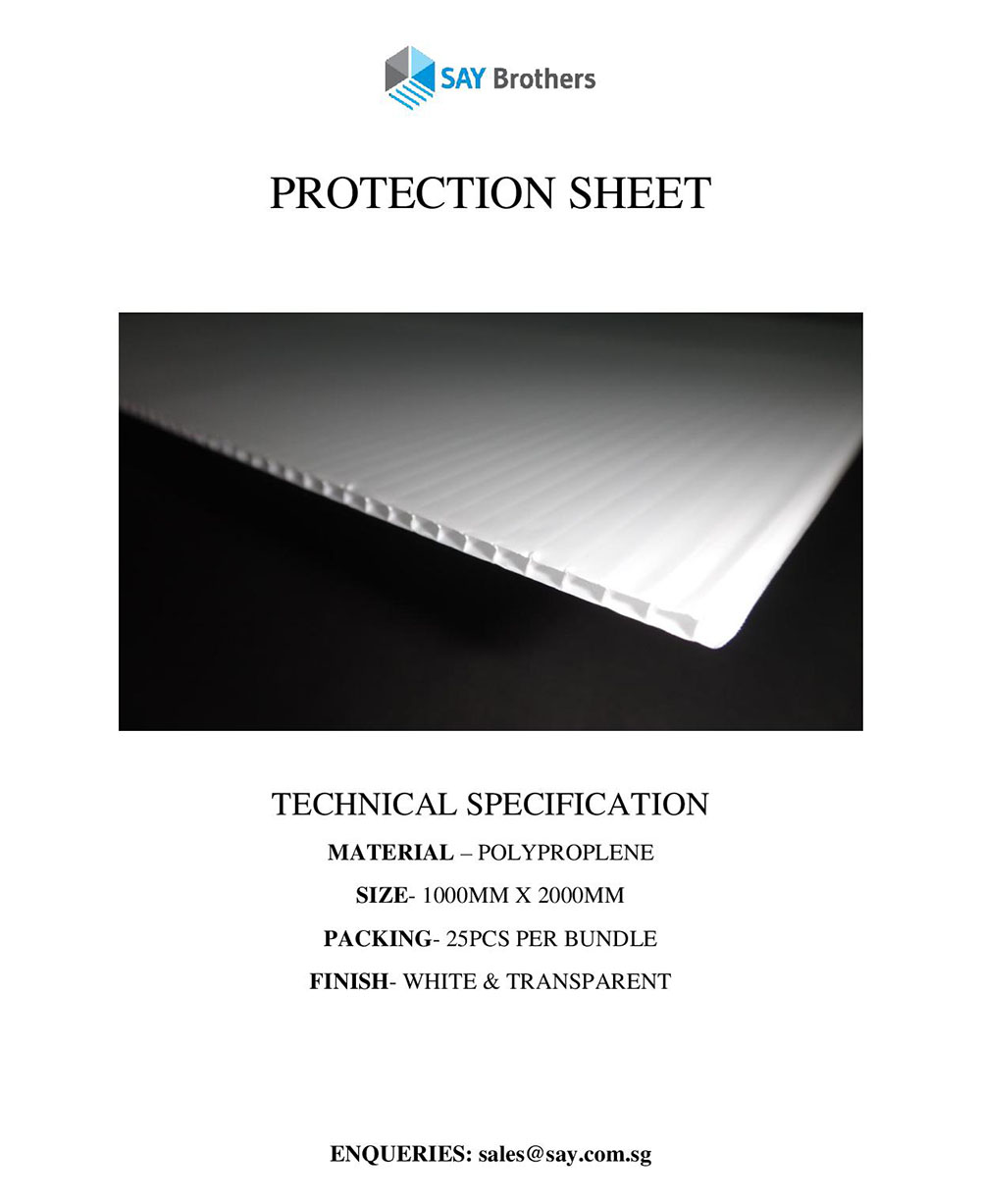 Protection sheet pic