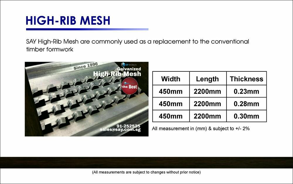 high-rib