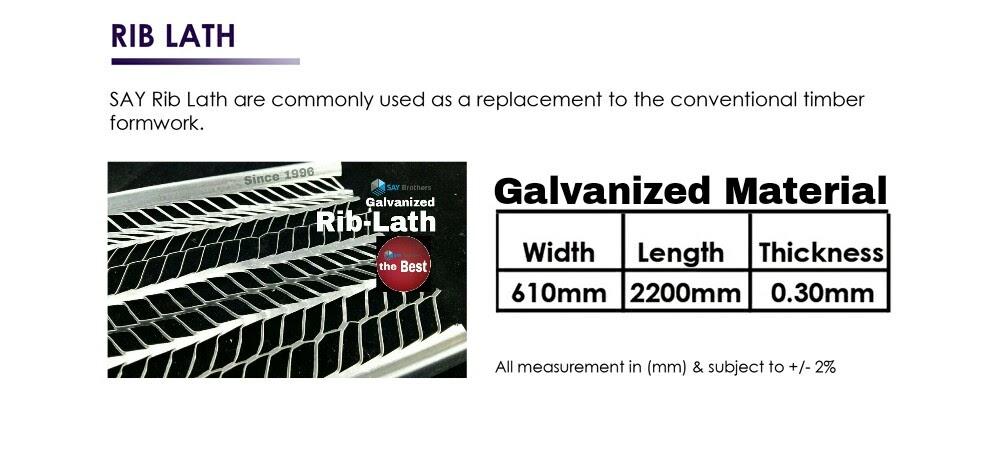 rib-lath